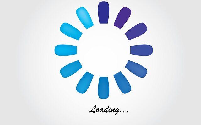 page loading concept illustration